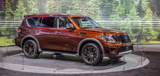 2020 Nissan Armada front view