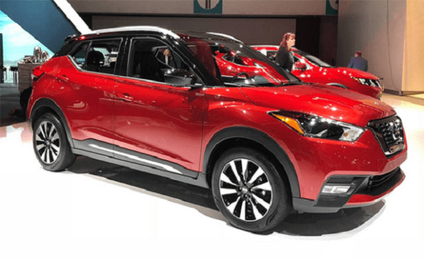 2020 Nissan Kicks front view