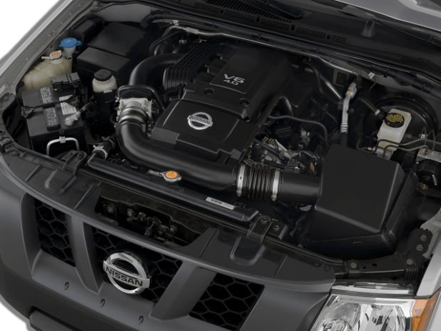 2020 Nissan Xterra engine