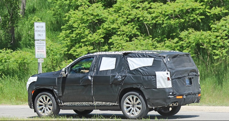2021 Chevrolet Tahoe Spy Shots, Release date, Pictures ...
