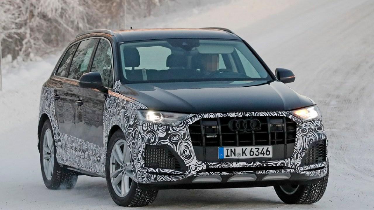 2021 Audi Q7 Spy Shots Release Date Specs Price >> 2021 Audi Q7 Spy Shots Hybrid Changes 2019 And 2020 New