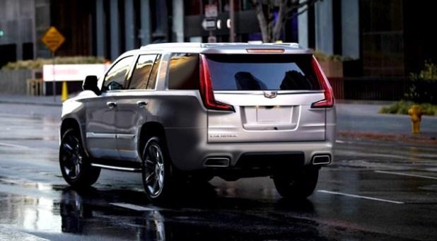 2021 Cadillac Escalade rear