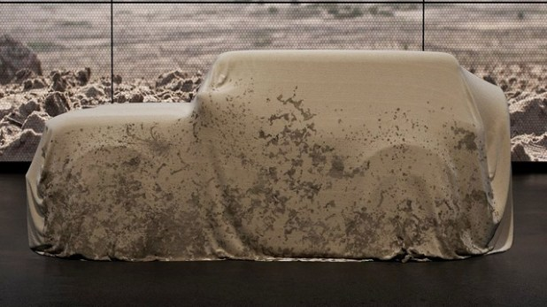 2021 Ford Bronco Teaser Photo