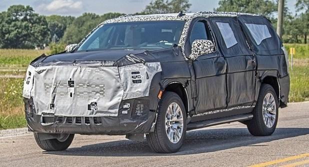 2021 GMC Yukon XL Spy Photo