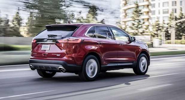 Ford Edge rear