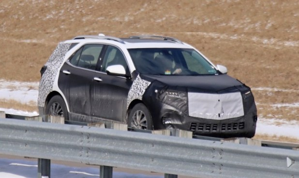 2021 Chevy Equinox Spy shot