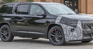 2021 Chevy Traverse Spy shot