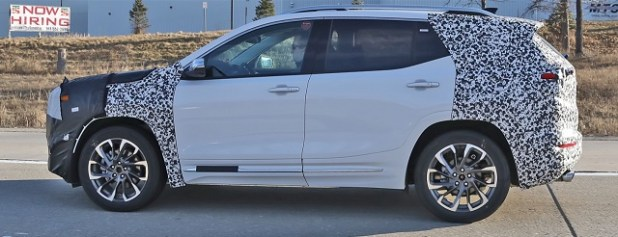 2021 GMC Terrain Spy shot
