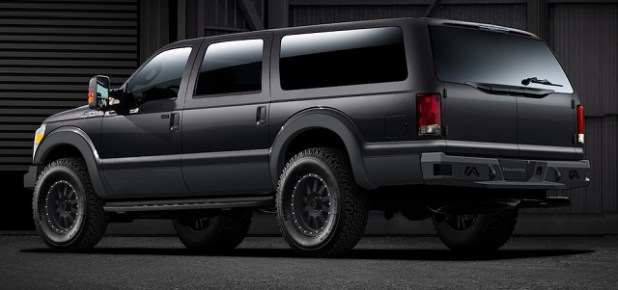 2021 Ford Excursion Rendering photo rear