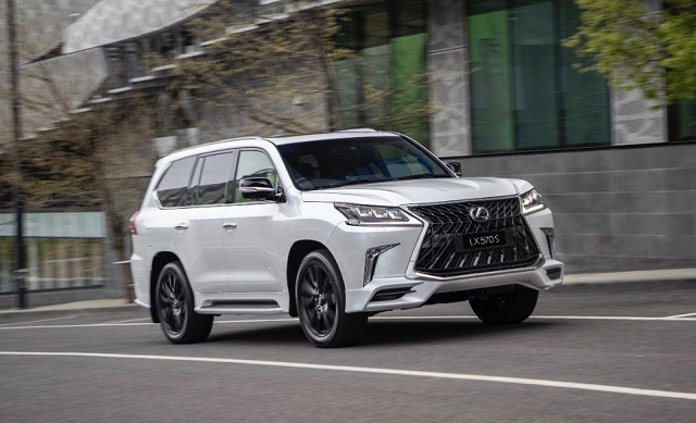 2021lexuslx570frontview1  2019 and 2020 new suv models