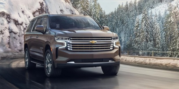 2021 Chevy Suburban Front
