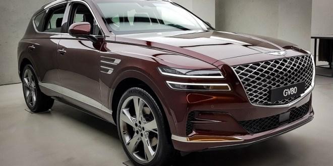 2021 genesis gv80 review price interior mpg release