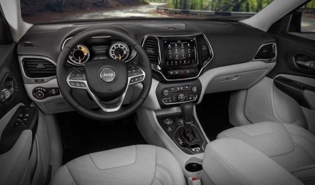 2021 Jeep Compass Interior