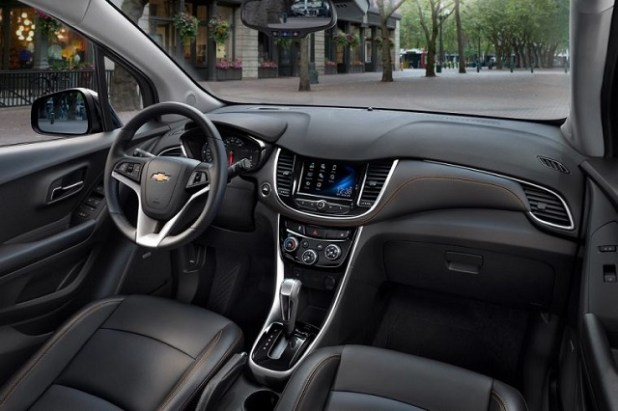 2021 Chevy Trax Interior