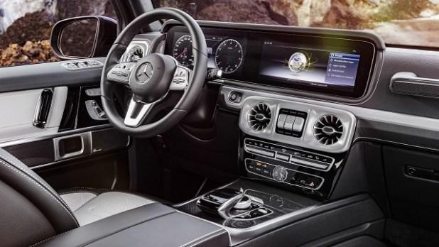 2021 Mercedes Benz G-Class Interior