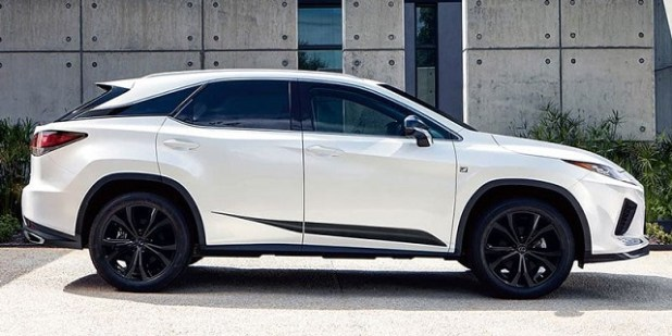 2022 Lexus RX 350 preview