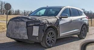 2022 Acura RDX spy shot