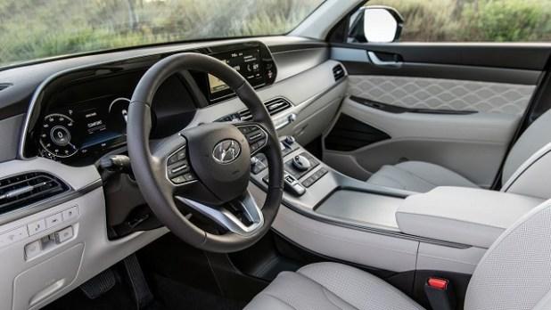 2022 Hyundai Palisade Calligraphy Interior