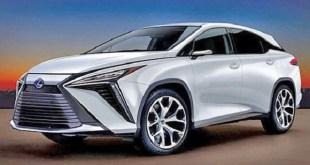 2023 Lexus RX 350 rendering