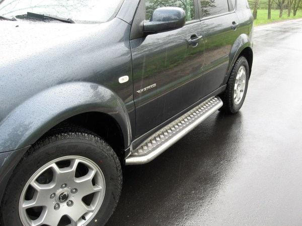 SSANGYONG REXTON 2006-2012 MARCHE-PIEDS INOX PLAT / PROTECTIONS LATERALES II 2006-2012 339,00 €