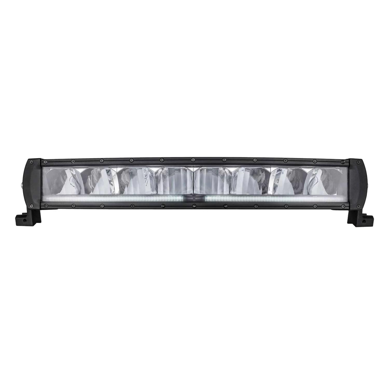 PROJECTEUR LED SWEDSTUFF 120W 12-24V DC Curved, position light, E-approved