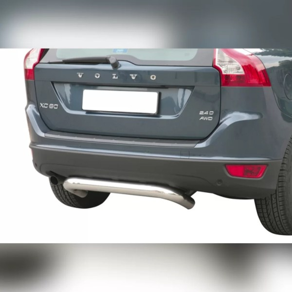 PROTECTION ARRIERE INOX SUR VOLVO XC60 2009-2013
