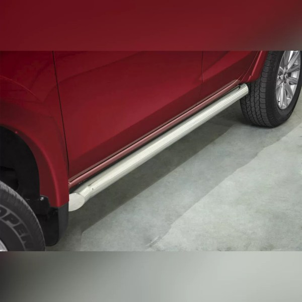 PROTECTION LATERAL INOX SUR FIAT FULLBACK 2015+