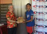 Medal Ceremony at Munro Leys Suva Challenge 2017 - 1st April 2017 #suvachallenge #suvamarathonclub #MunroLeys