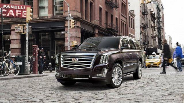 2019 Cadillac Escalade front