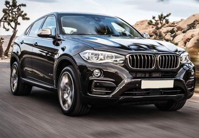 2019 BMW X6 front