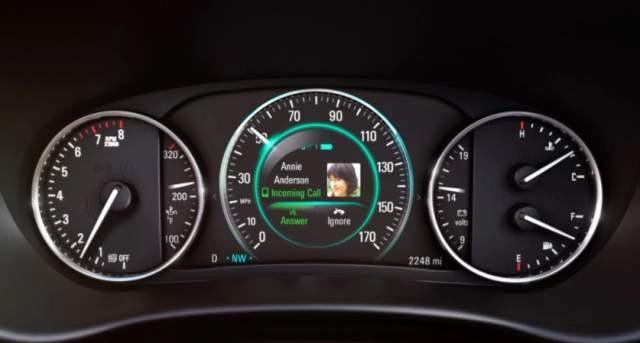 2019 Buick Envision dashboard