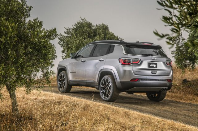 2019 Jeep Compass rear