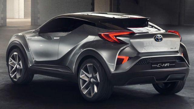 2019 Toyota C-HR rear