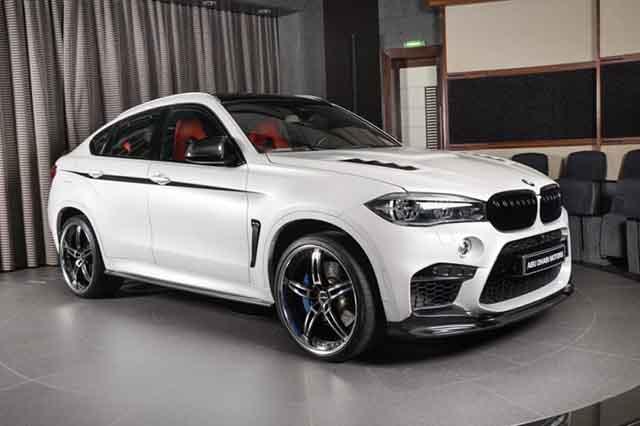 2019 BMW X6 M front