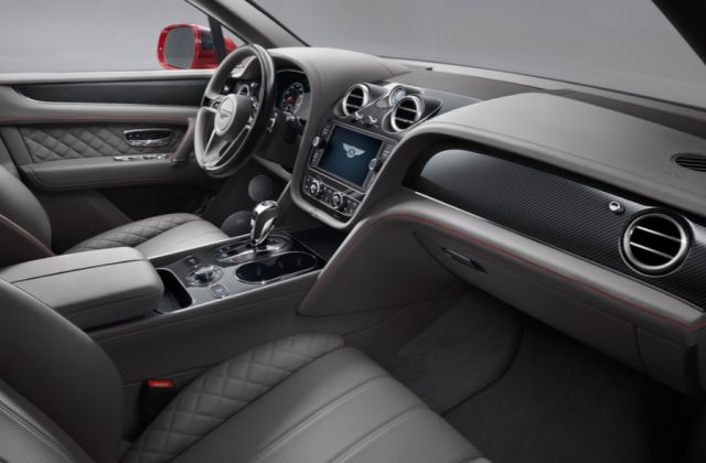 2019 Bentley Bentayga interior