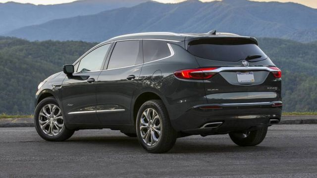 2019 Buick Enclave rear view