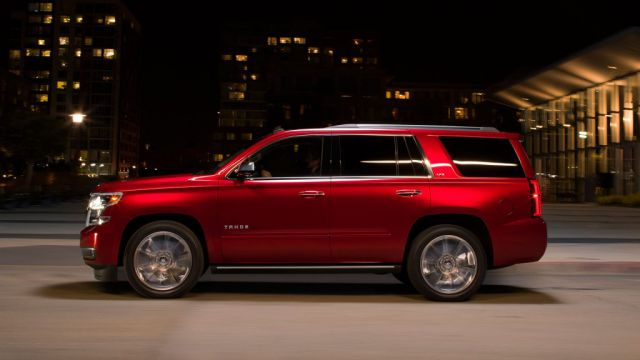 2019 Chevrolet Tahoe side