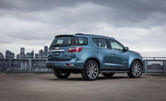 2019 Chevrolet Trailblazer rear