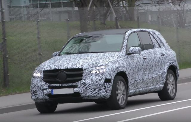 2019 Mercedes-Benz GLE front view