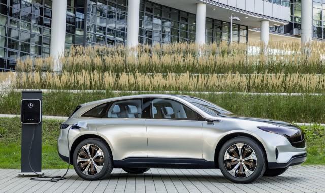 2019 Mercedes-Benz EQC side