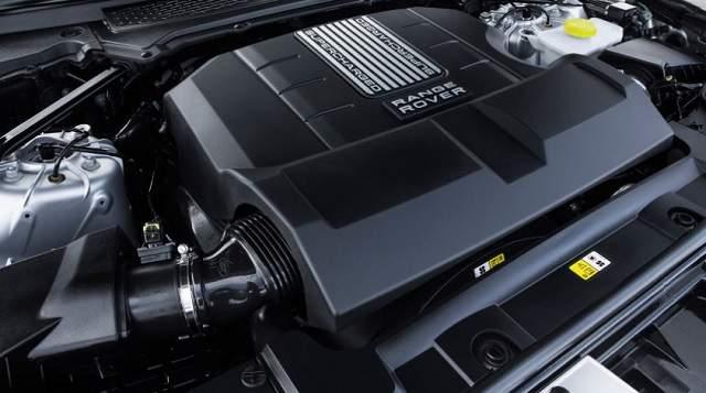 2019 Range Rover Vogue engine