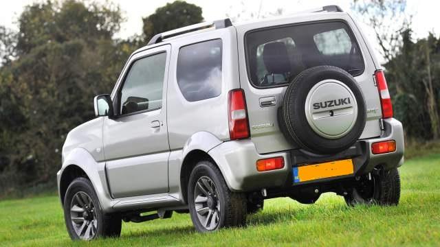 2019 Suzuki Jimny rear