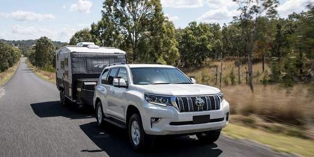 2019 Toyota Land Cruiser Prado