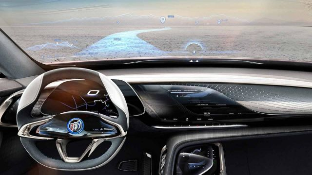 2019 Buick Enspire interior