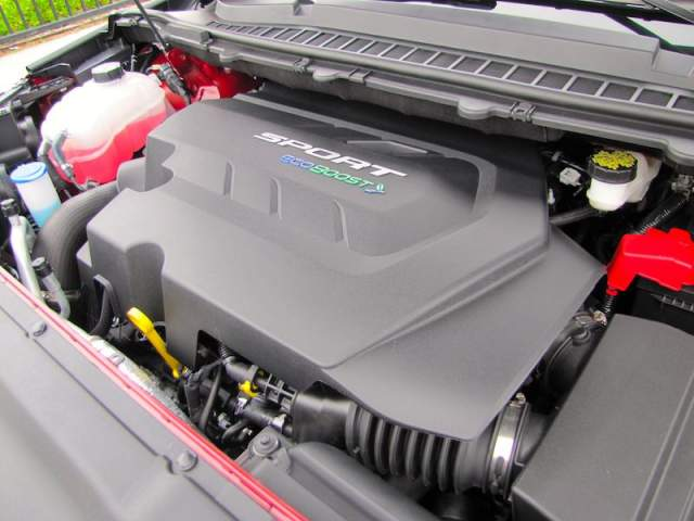 2019 Ford Edge Sport engine