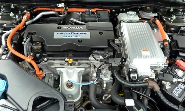 2019 Honda Pilot Hybrid engine