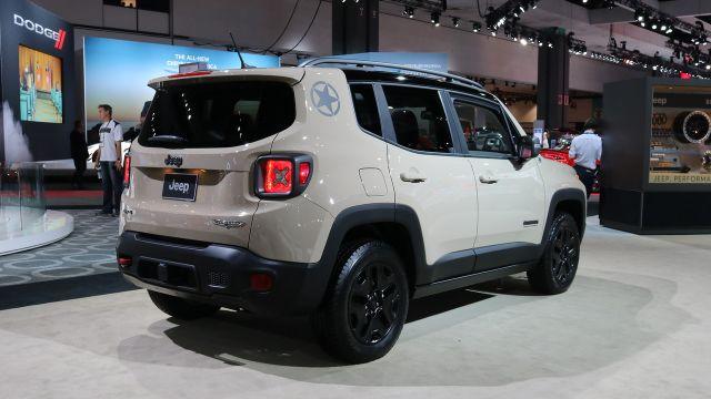 2019 Jeep Renegade rear