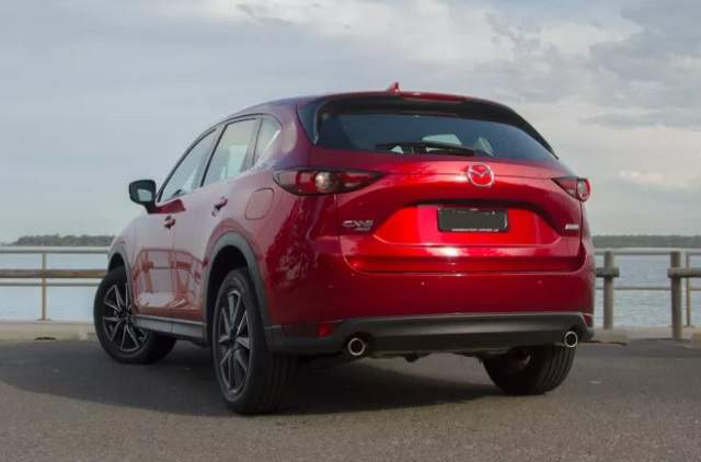 2019 Mazda CX-5 Turbo rear