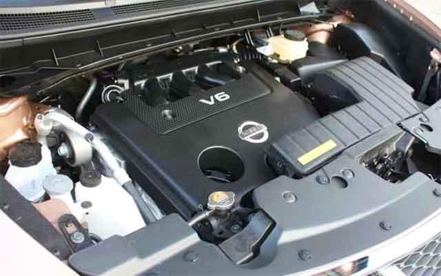 2019 Nissan Murano engine