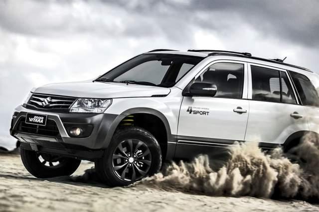 2019 Suzuki Grand Vitara off-road 4x4